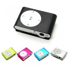 MINI MP3 PLAYER MUSIC - COLORS - 4GB