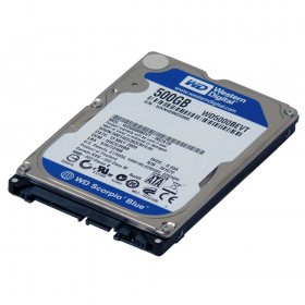"HD NOTEBOOK  500GB 2,5"" SATA - WESTERN DIGITAL WD"