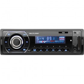 RÁDIO SOM AUTOMOTIVO BLUETOOTH TALK  P3214  - FM / USB / SD - MULTILASER -.ESCUTE AS MÚSICAS DE SEU CELULAR VIA BLUETOOTH